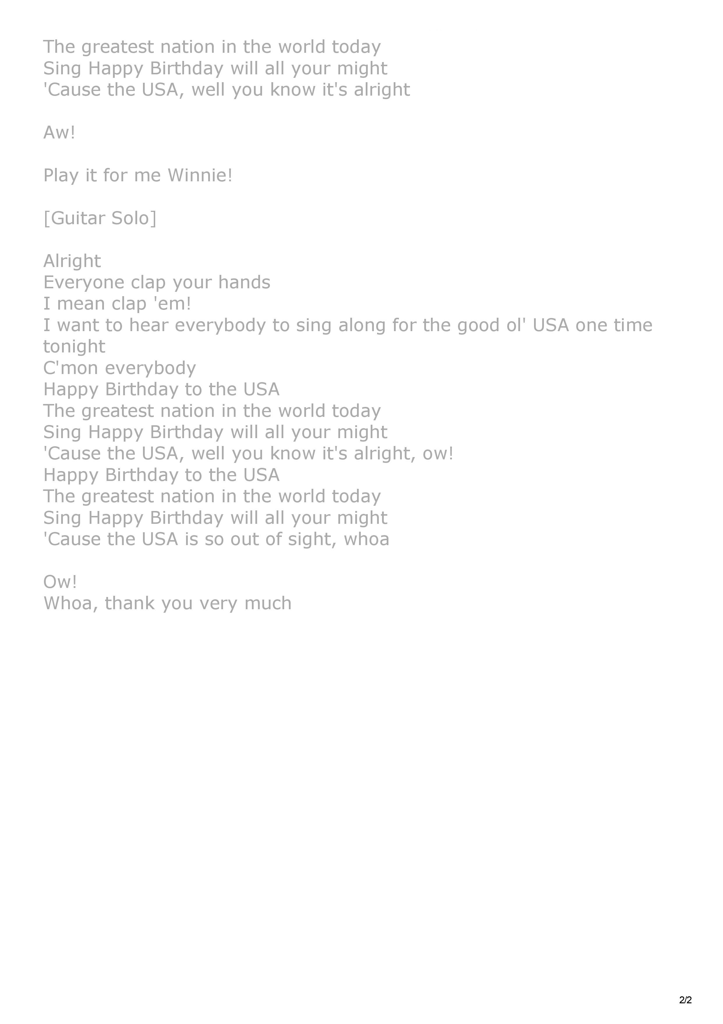 01. Happy Birthday U.S.A. song lyrics-page-2.jpg