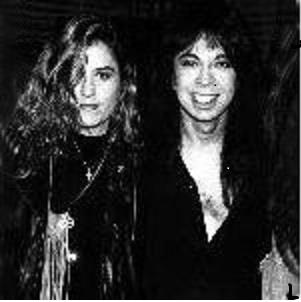 Vicki Peterson and Vinnie Vincent 1988.jpg