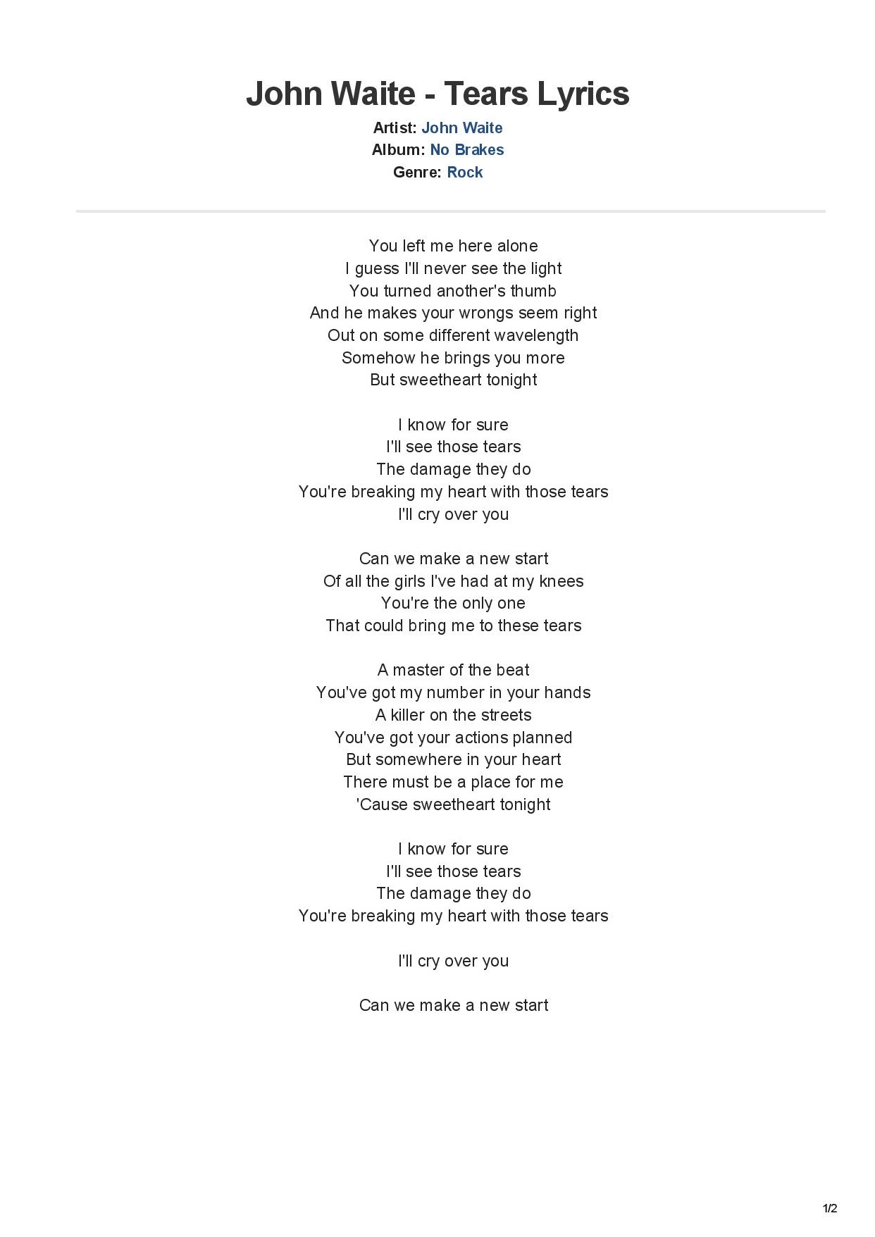 JOHN WAITE - TEARS LYRICS-page-001.jpg