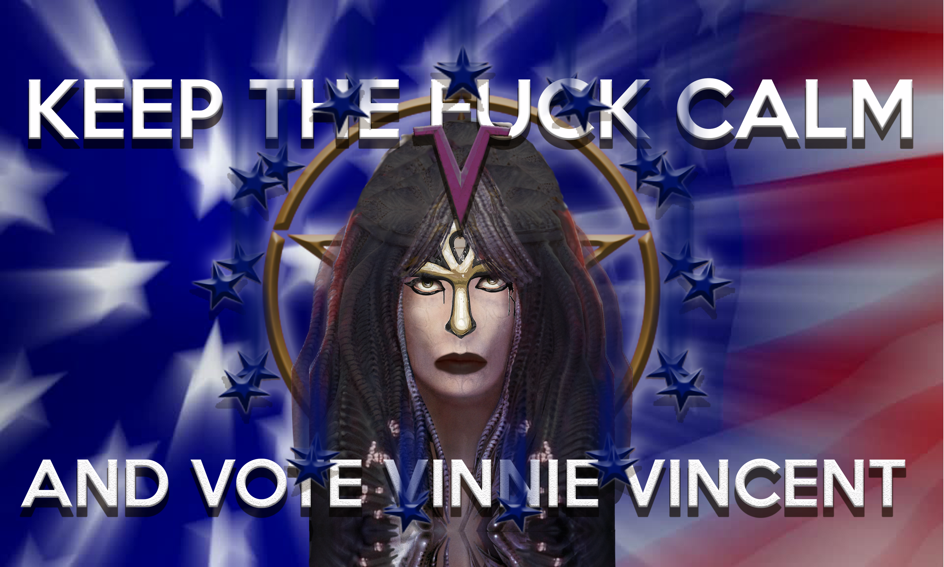 Keep the Fuck Calm & Vote Vinnie Vincent.png